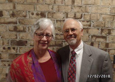 Pastor Howard and Carolyne