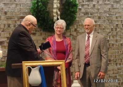 Pastor Howard installation service