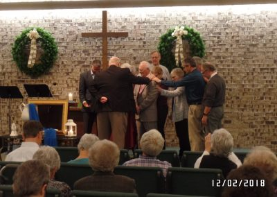 Installation prayer