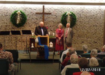 Pastor Howard installation